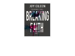 breaking faith cover blitz